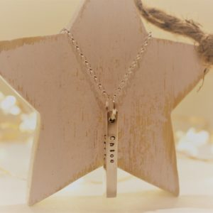 Hand Stamped Sterling Silver